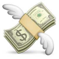 flying-money-emoji