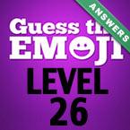Level 30 Guess The Emoji