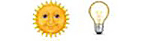 Guess the Emoji Level 7 Answer 1 - Guess the Emoji Answers Sun And Light Bulb Emoji