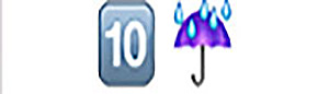 The hint for Guess the Emoji level is 10, and umbrella (storm movie starring mark wahlberg). ← Prev. Tags: guess the emoji answers guess the emoji cheats Guess the Emoji Level Next post Solve The Emoji - Emoji 2 Previous post 7 Craziest New Emojis of Related Posts.