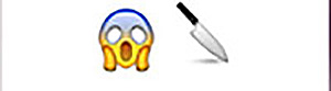 Guess the Emoji Level 23 Answer 1 - Guess the Emoji Answers Shocked Face Wave Emoji