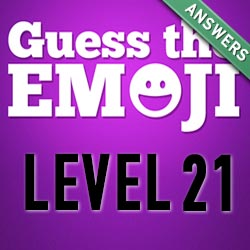 guess the emoji level 21