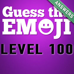guess the emoji level 100