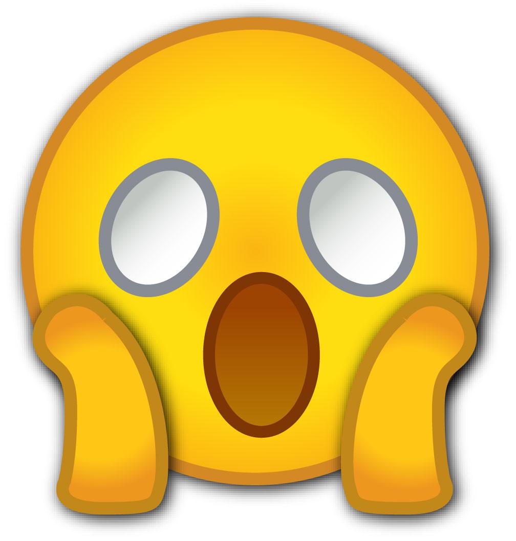 O face emoji