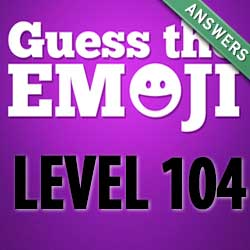guess the emoji level 104