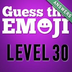 guess the emoji level 30