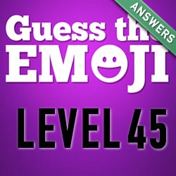 guess the emoji level 45