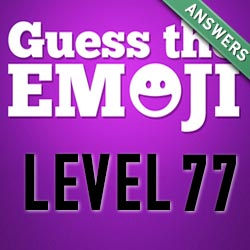 guess the emoji level 77
