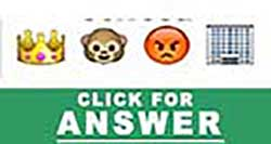 Guess the Emoji answers and cheats level 50