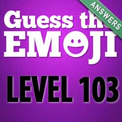 guess the emoji level 103