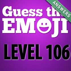 guess the emoji level 106