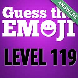 guess the emoji level 119
